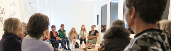 SHUT DOWN at Brighton Festival artist talk 2018 Charlotte Vincent